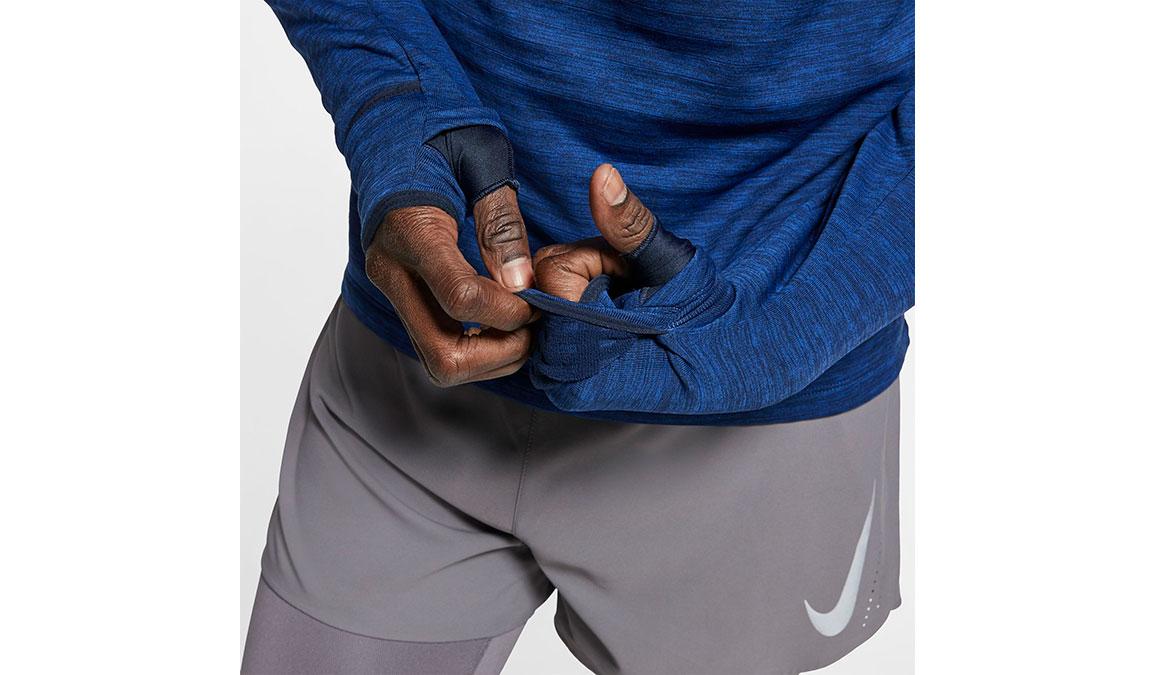 Men's Nike Sphere Element 3.0 Top - Color: Obsidian/Heather Size: S, Obsidian/Heather, large, image 4