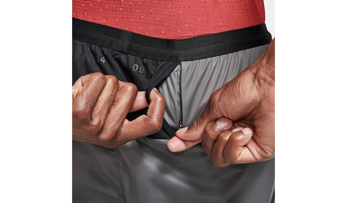 Men's Nike Tech Pack Pants - Color: Iron Grey/Black Size: S, Iron Grey/Black, large, image 3