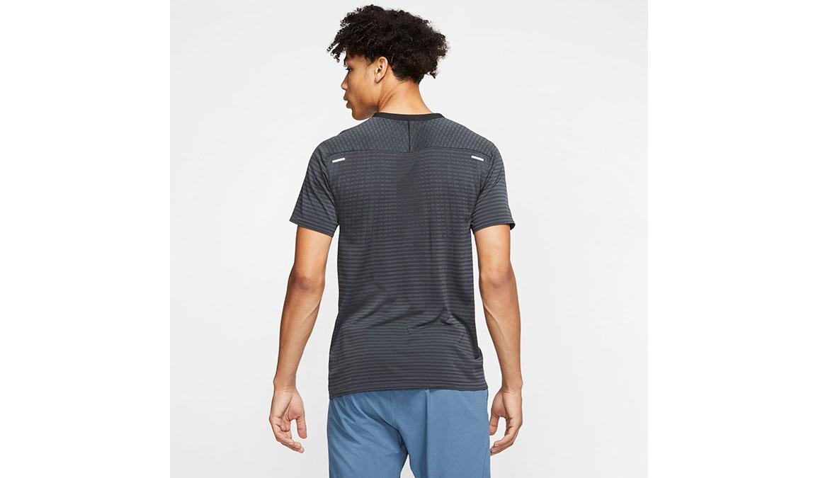 Men's Nike TechKnit Ultra Top - Color: Black/Dark Smoke Grey Size: S, Black/Dark Smoke Grey, large, image 2
