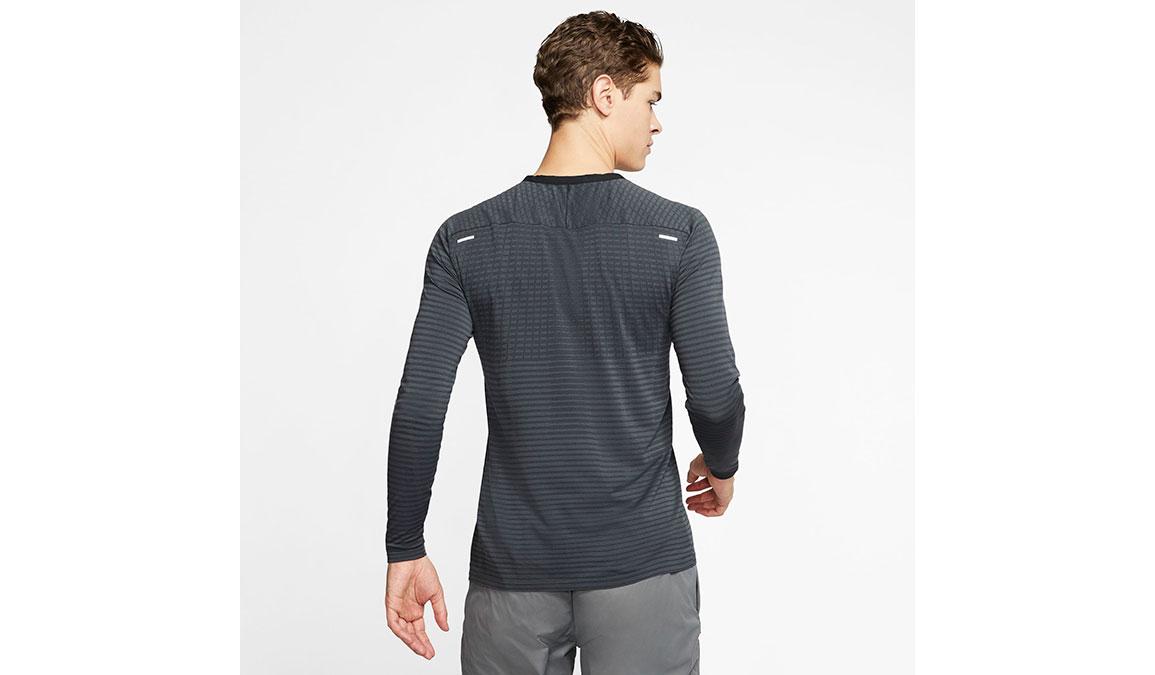 Men's Nike TechKnit Ultra Top - Color: Black/Dark Smoke Size: S, Black/Dark Smoke, large, image 2