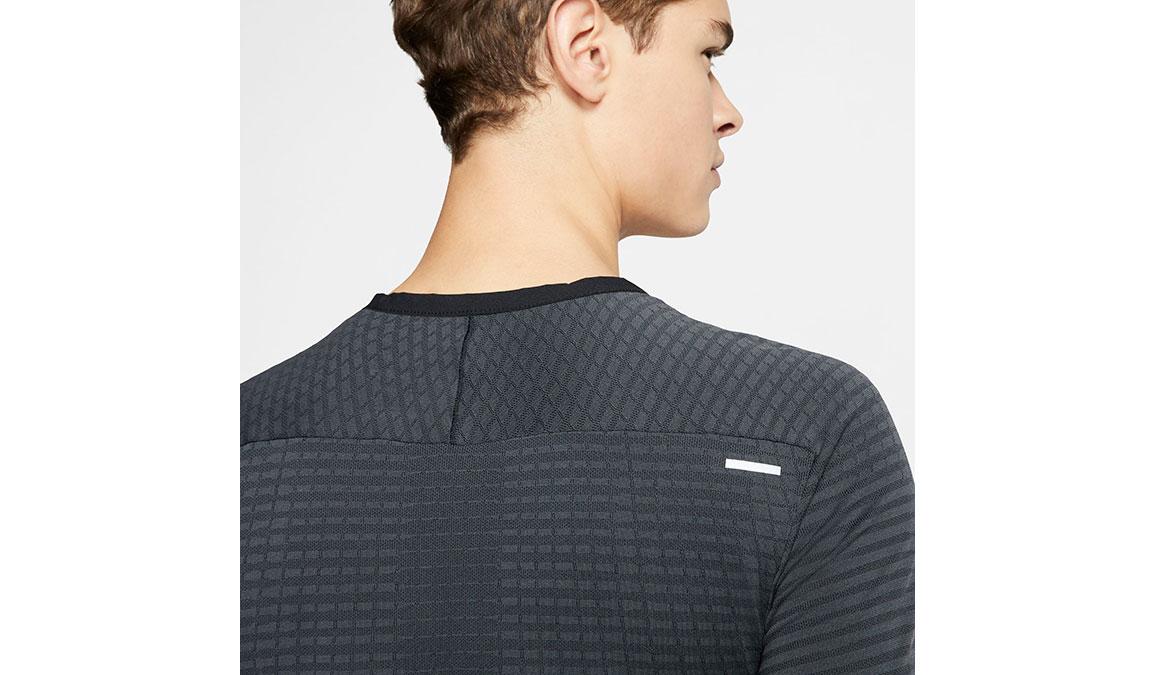 Men's Nike TechKnit Ultra Top - Color: Black/Dark Smoke Size: S, Black/Dark Smoke, large, image 4
