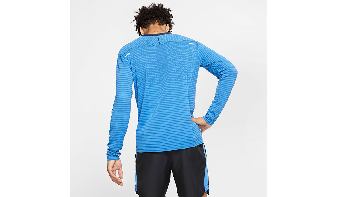 Men's Nike TechKnit Ultra Top - Color: Pacific Blue/Reflective Silver Size: S, Pacific Blue/Reflective Silver, large, image 3