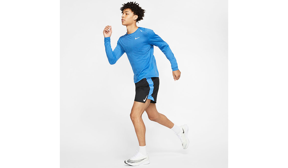Men's Nike TechKnit Ultra Top - Color: Pacific Blue/Reflective Silver Size: S, Pacific Blue/Reflective Silver, large, image 4