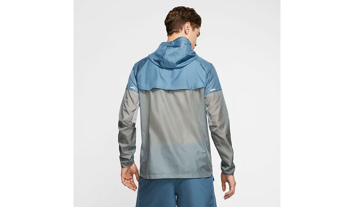 Men's Nike Windrunner Jacket - Color: Smoke Grey/Thunderstorm Size: M, Smoke Grey/Thunderstorm, large, image 2