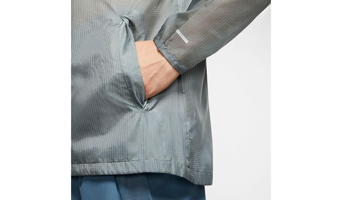 Men's Nike Windrunner Jacket - Color: Smoke Grey/Thunderstorm Size: M, Smoke Grey/Thunderstorm, large, image 4