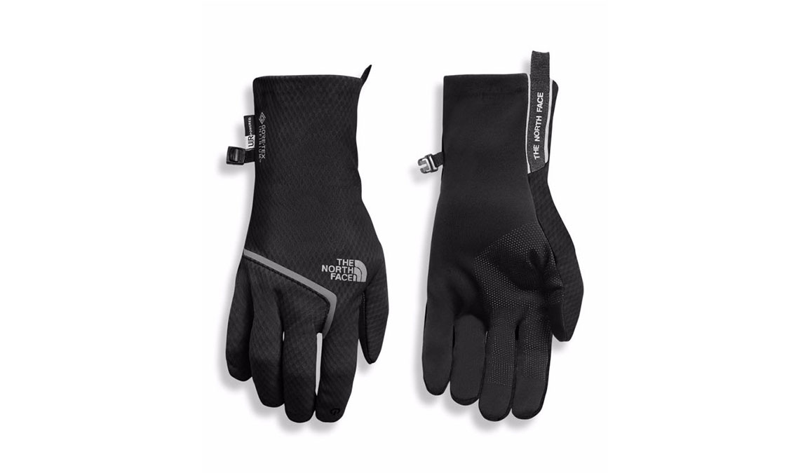 Men's North Face Gore Closefit Tricot Gloves - Color: Black Size: S, Black, large, image 1