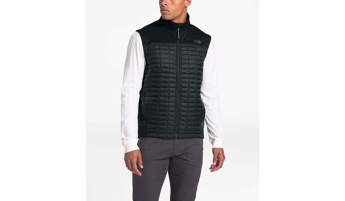 Men's North Face ThermoBall Flash Vest - Color: Black Size: S, Black, large, image 1