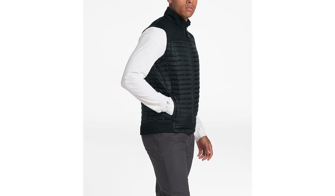 Men's North Face ThermoBall Flash Vest - Color: Black Size: S, Black, large, image 2