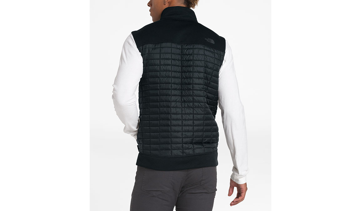 Men's North Face ThermoBall Flash Vest - Color: Black Size: S, Black, large, image 3