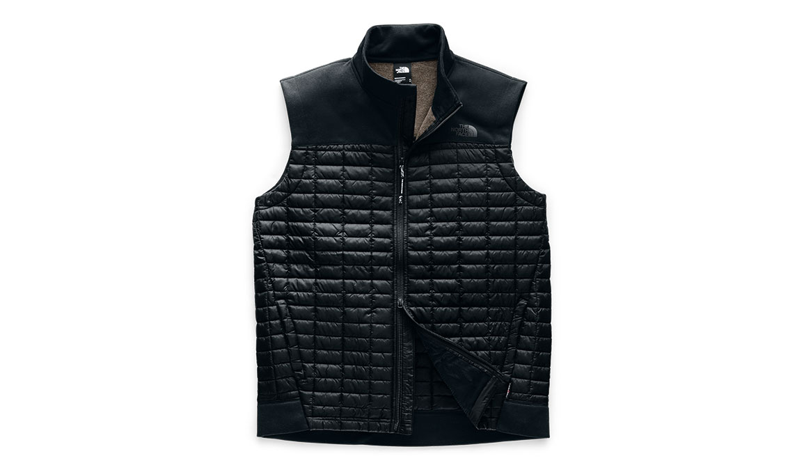 Men's North Face ThermoBall Flash Vest - Color: Black Size: S, Black, large, image 4