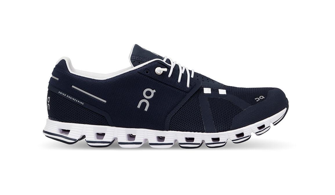 Men's On Cloud Running Shoe - Color: Navy/White (Regular Width) - Size: 12.5, Navy/White, large, image 1