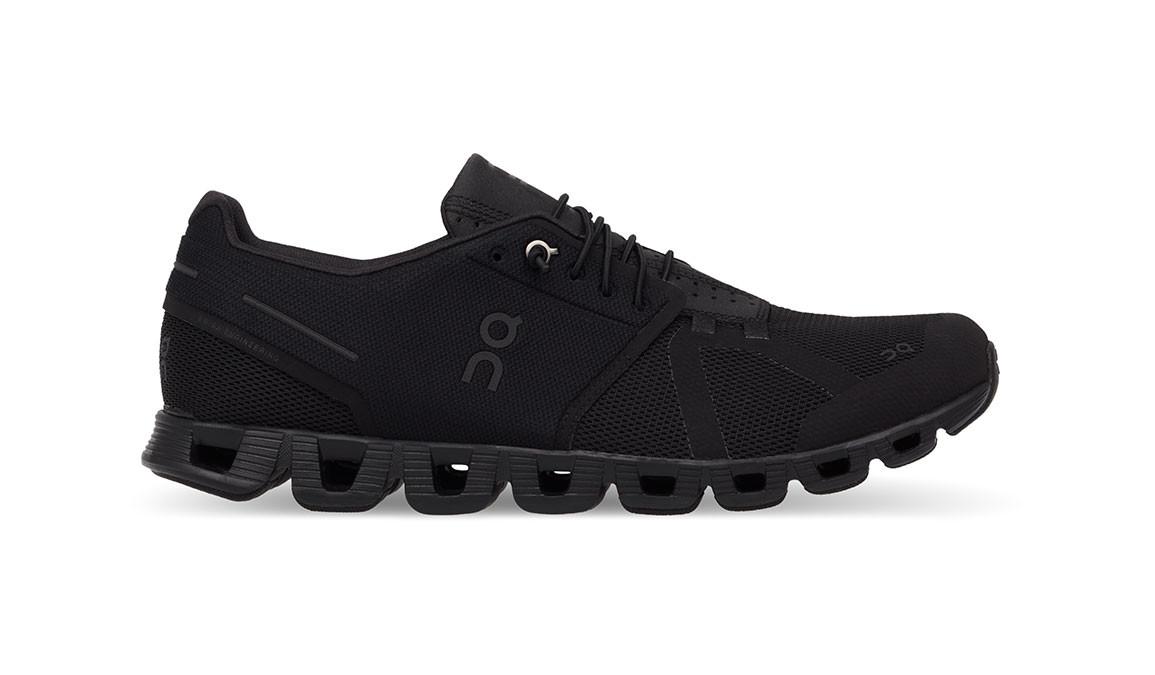 Men's On Cloud Running Shoe - Color: Black (Regular Width) - Size: 8, Black, large, image 1