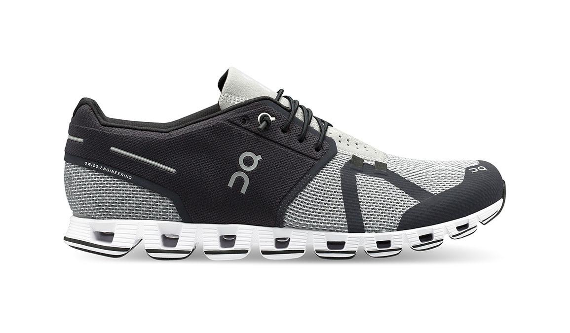 Men's On Cloud Running Shoes - Color: Black/Slate (Regular Width) - Size: 8, Black/Grey, large, image 1