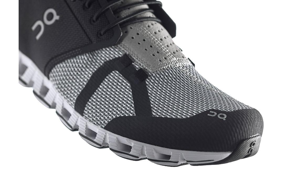 Men's On Cloud Running Shoes - Color: Black/Slate (Regular Width) - Size: 8, Black/Grey, large, image 2