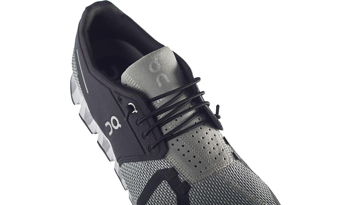 Men's On Cloud Running Shoes - Color: Black/Slate (Regular Width) - Size: 8, Black/Grey, large, image 3
