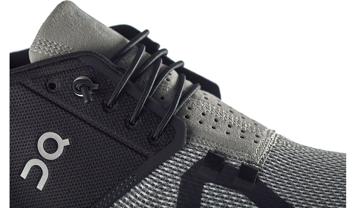 Men's On Cloud Running Shoes - Color: Black/Slate (Regular Width) - Size: 8, Black/Grey, large, image 4