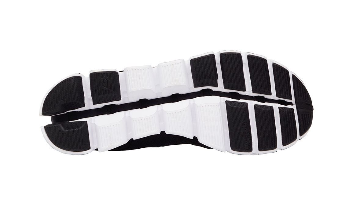 Men's On Cloud Running Shoes - Color: Black/White (Regular Width) - Size: 10.5, Black/White, large, image 2