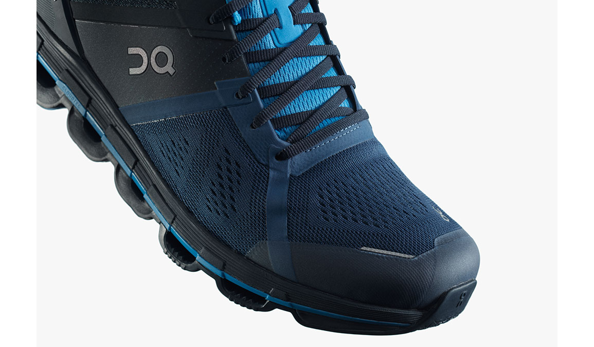 Men's On Cloudace Running Shoe - Color: Navy/Malibu (Regular Width) - Size: 8, Navy, large, image 2