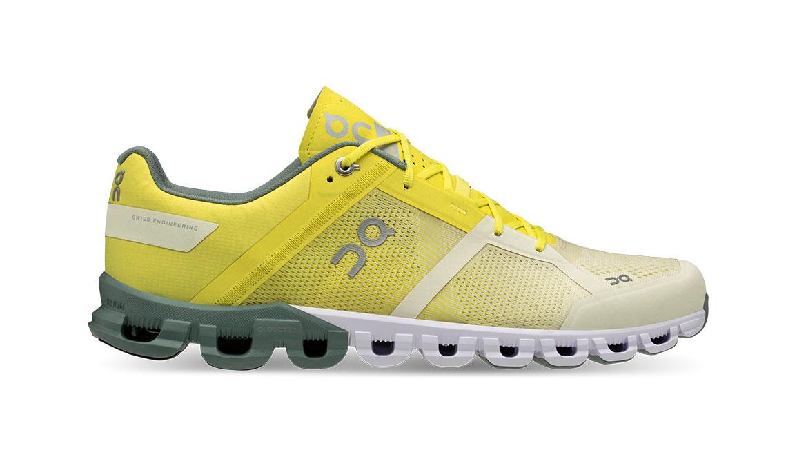 Men's On Cloudflow Running Shoe - Color: Citrus/Sea (Regular Width) - Size: 9.5, Citrus, large, image 1