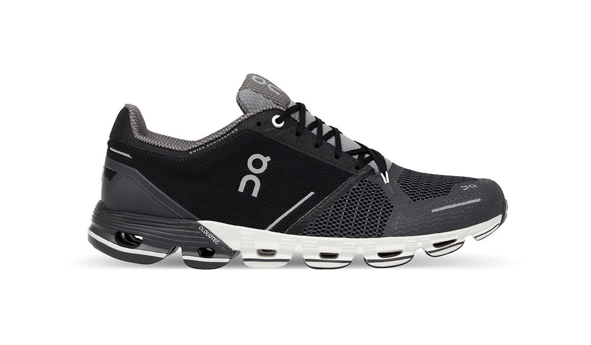 Men's On Cloudflyer - Color: Black/White (Regular Width) - Size: 9, Black, large, image 1