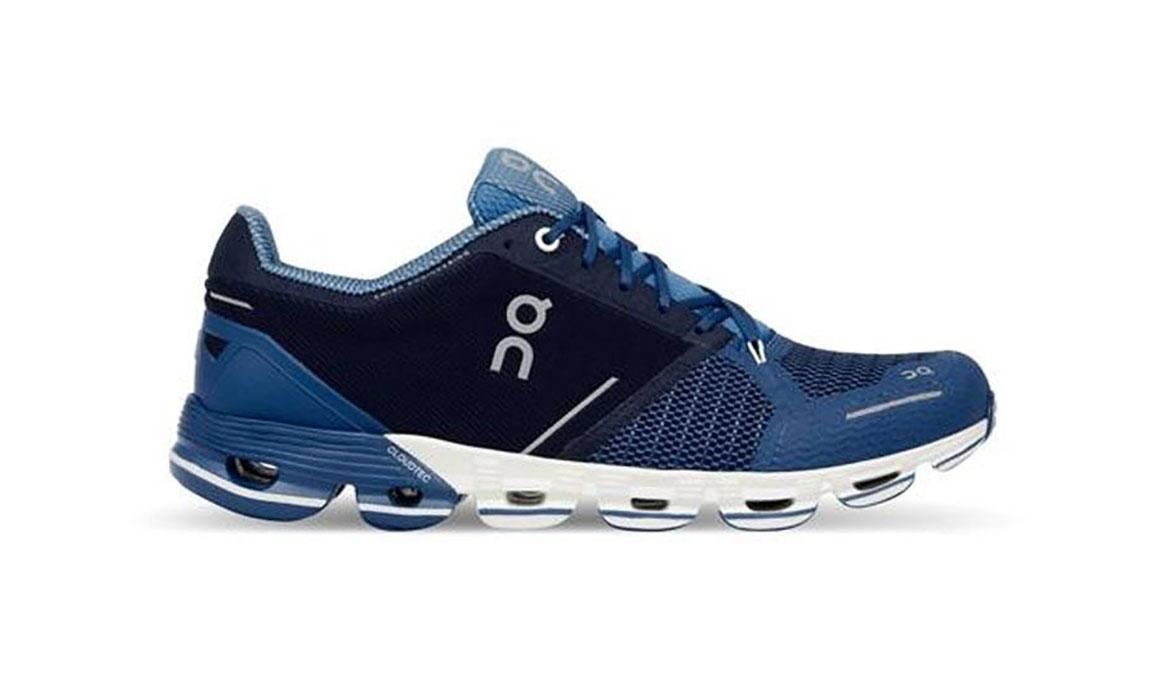 Men's On Cloudflyer Running Shoe - Color: Blue/White (Regular Width) - Size: 9, Blue/White, large, image 1