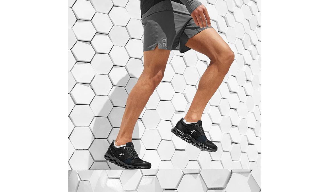 Men's On Cloudstratus Running Shoe - Color: Black/Shadow (Regular Width) - Size: 10, Black, large, image 3