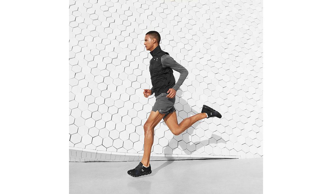 Men's On Cloudstratus Running Shoe - Color: Black/Shadow (Regular Width) - Size: 10, Black, large, image 4