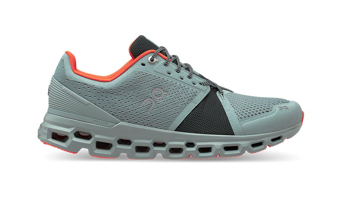 Men's On Cloudstratus Running Shoe - Color: Cobble/Ivy (Regular Width) - Size: 7, Cobble/Ivy, large, image 1