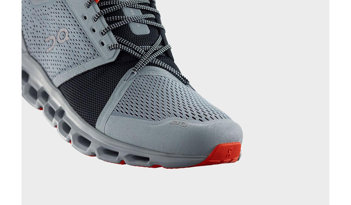 Men's On Cloudstratus Running Shoe - Color: Cobble/Ivy (Regular Width) - Size: 7, Cobble/Ivy, large, image 3