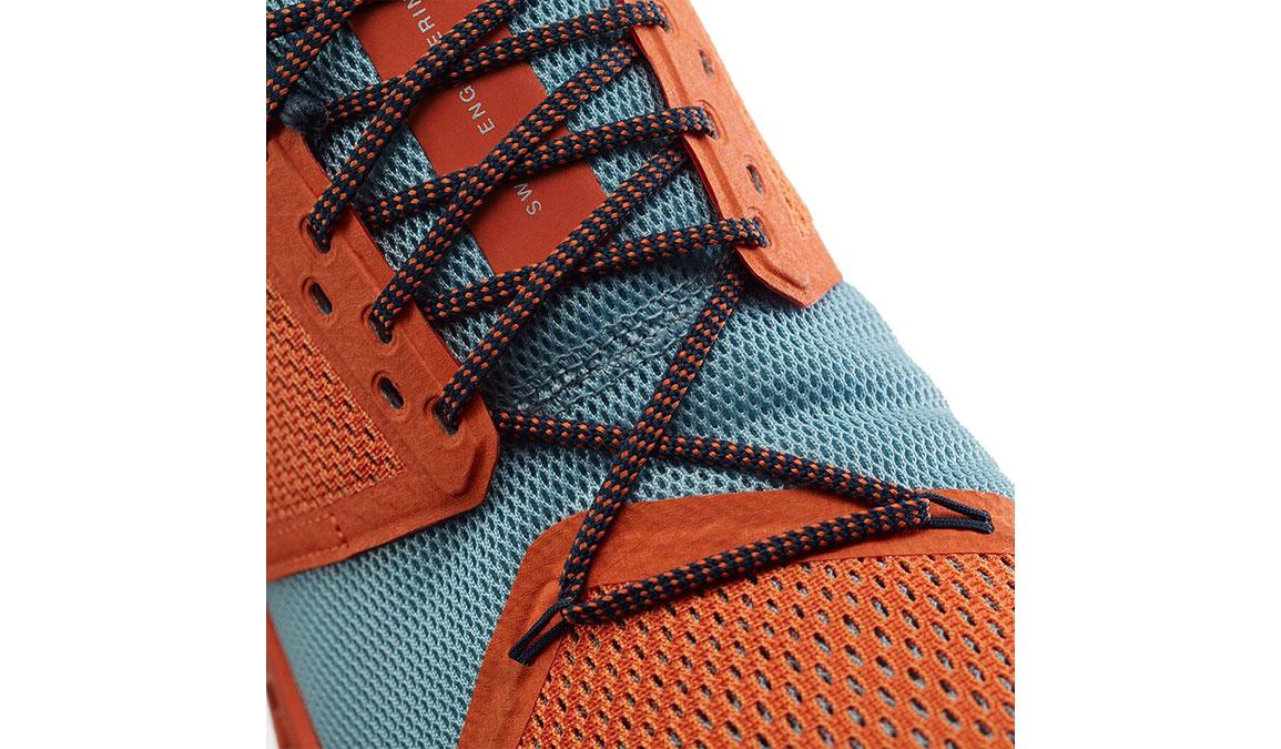 Men's On Cloudstratus Running Shoe - Color: Orange/Wash (Regular Width) - Size: 10, Orange/Blue, large, image 3