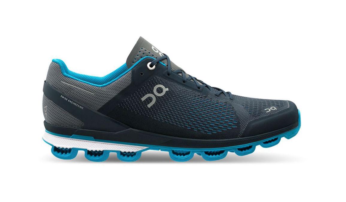 Men's On Cloudsurfer Running Shoe - Color: Midnight/Malibu (Regular Width) - Size: 8.5, Midnight, large, image 1