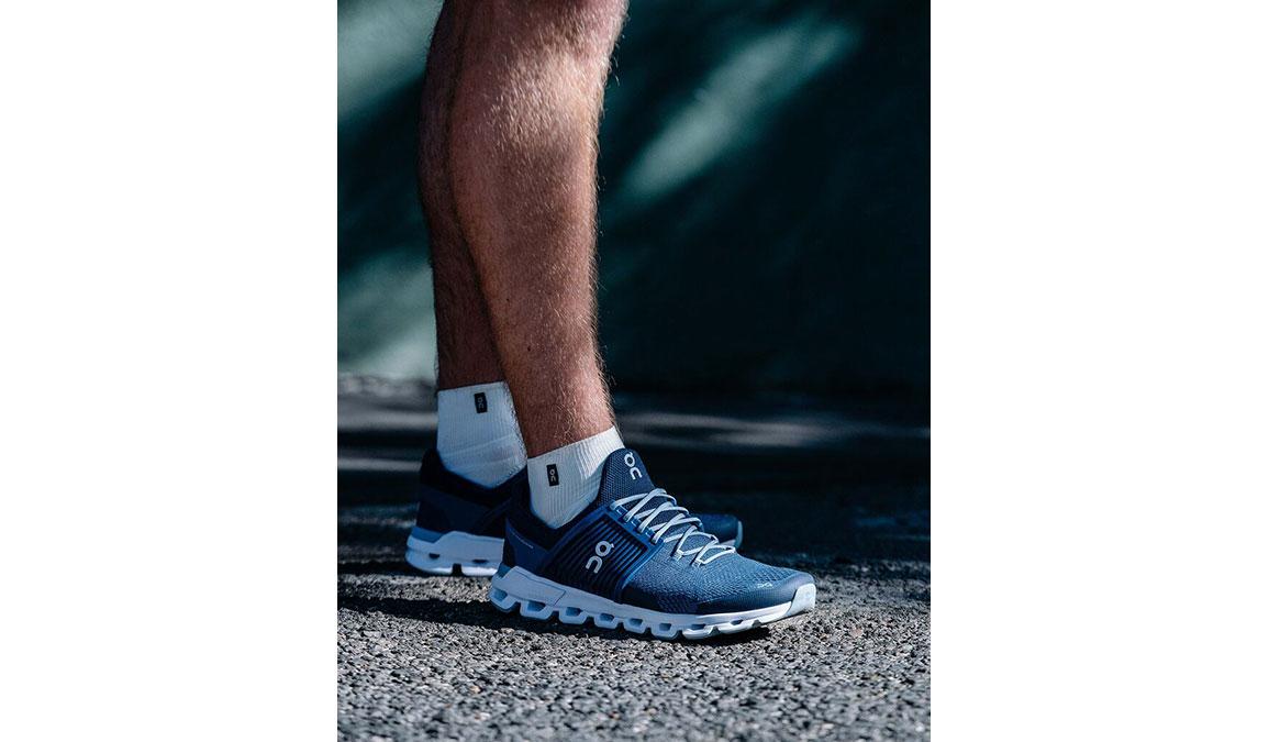 Men's On Cloudswift Running Shoe - Color: Denim/Midnight (Regular Width) - Size: 9.5, Denim, large, image 4