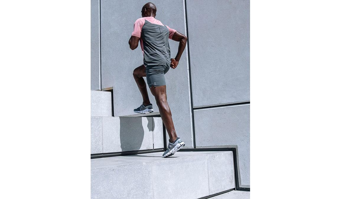 Men's On Cloudswift Running Shoe - Color: Rock/Slate (Regular Width) - Size: 7, Slate, large, image 3