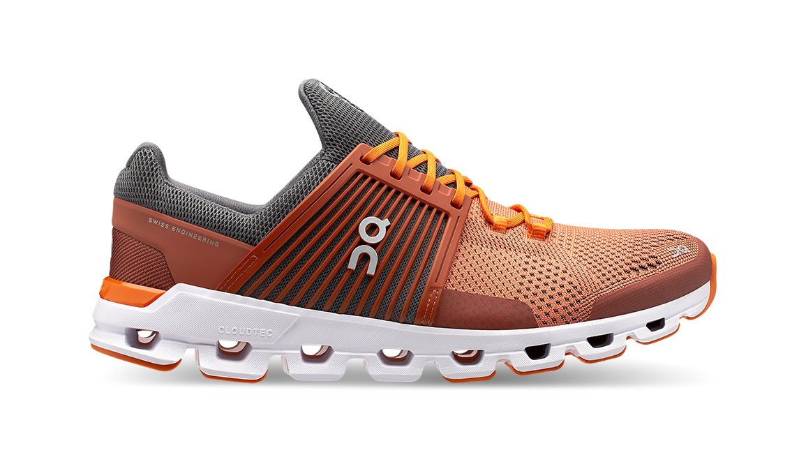 Men's On Cloudswift Running Shoe - Color: Rust/Rock (Regular Width) - Size: 7.5, Rust/Rock, large, image 1