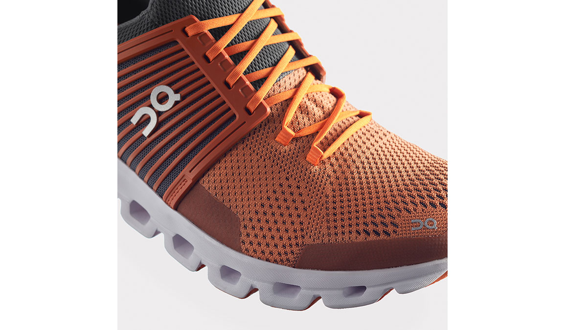 Men's On Cloudswift Running Shoe - Color: Rust/Rock (Regular Width) - Size: 7.5, Rust/Rock, large, image 2