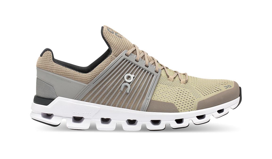 Men's On Cloudswift Running Shoe - Color: Sand/Grey (Regular Width) - Size: 8, Sand, large, image 1