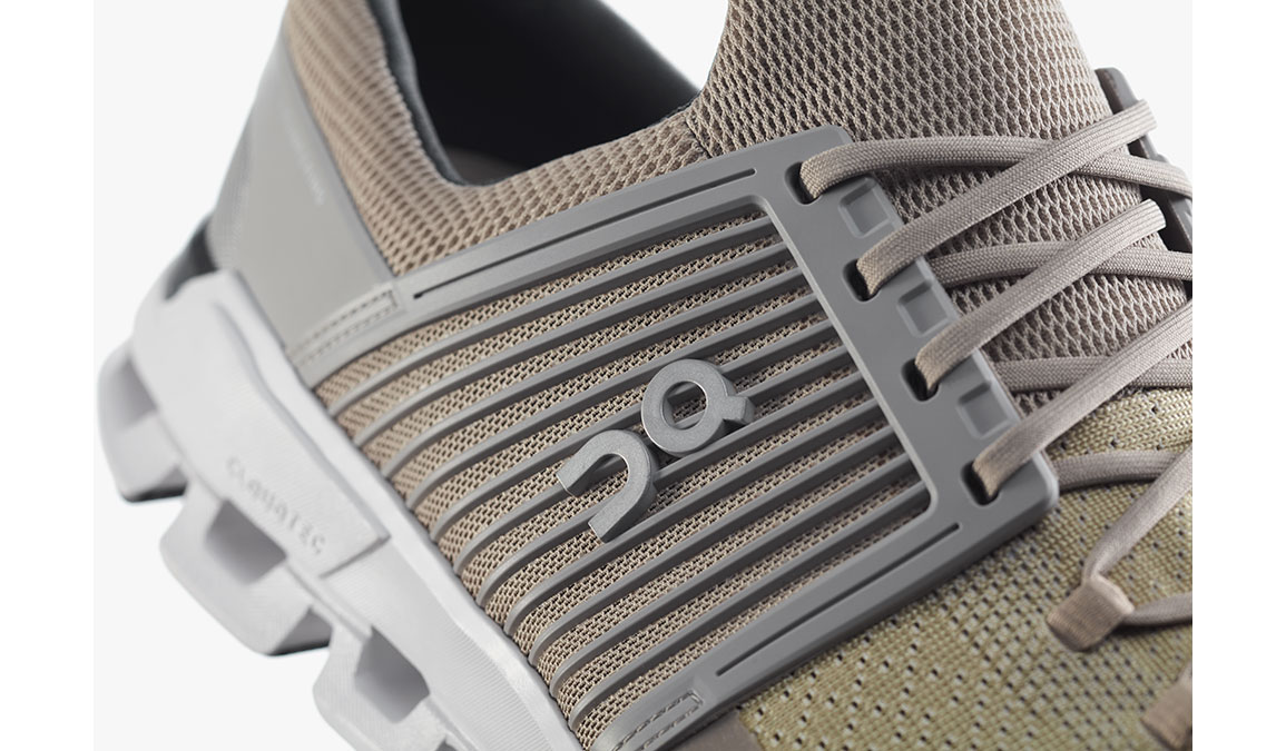 Men's On Cloudswift Running Shoe - Color: Sand/Grey (Regular Width) - Size: 8, Sand, large, image 3