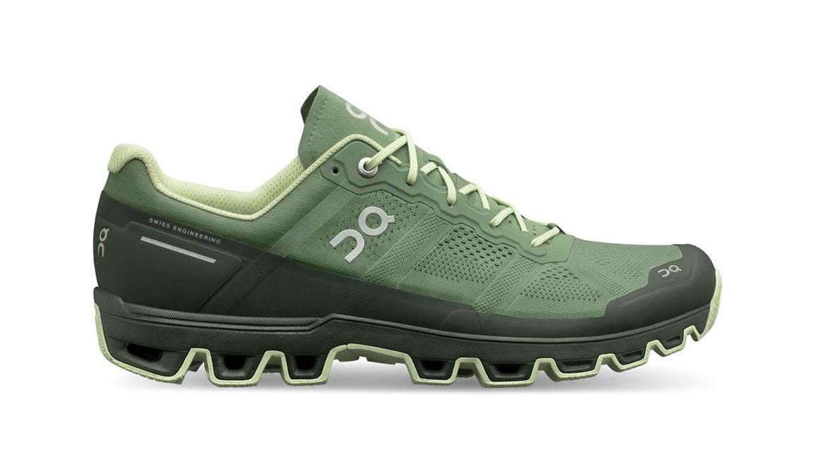 Men's On Cloudventure Trail Running Shoe - Color: Reseda/Jungle (Regular Width) - Size: 8.5, Reseda/Jungle, large, image 1