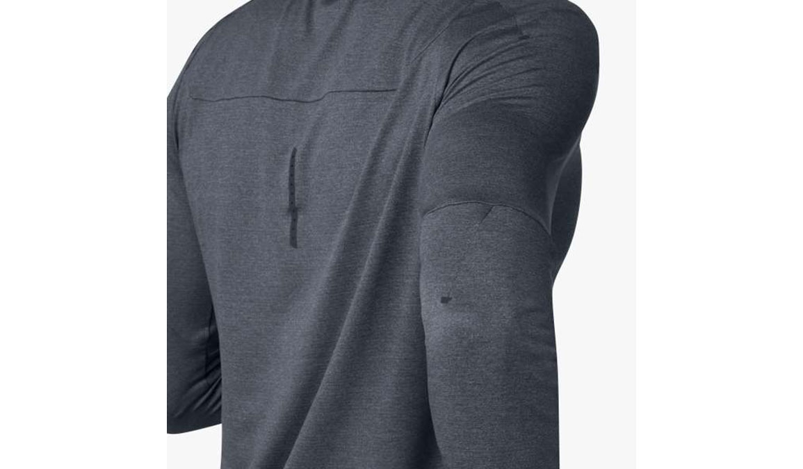 Men's On Long-T Shirt - Color: Shadow Size: S, Shadow, large, image 3