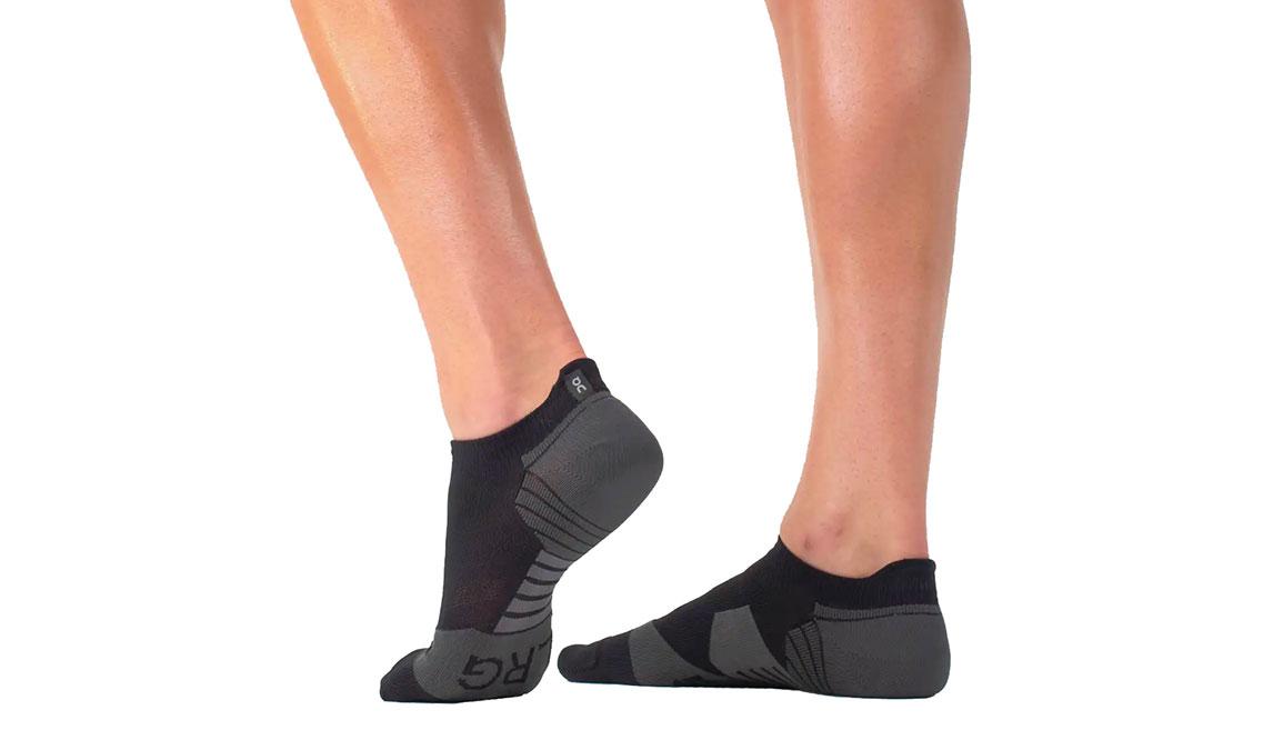 Men's On Low Sock - Color: Black Shadow Size: M, Black, large, image 1