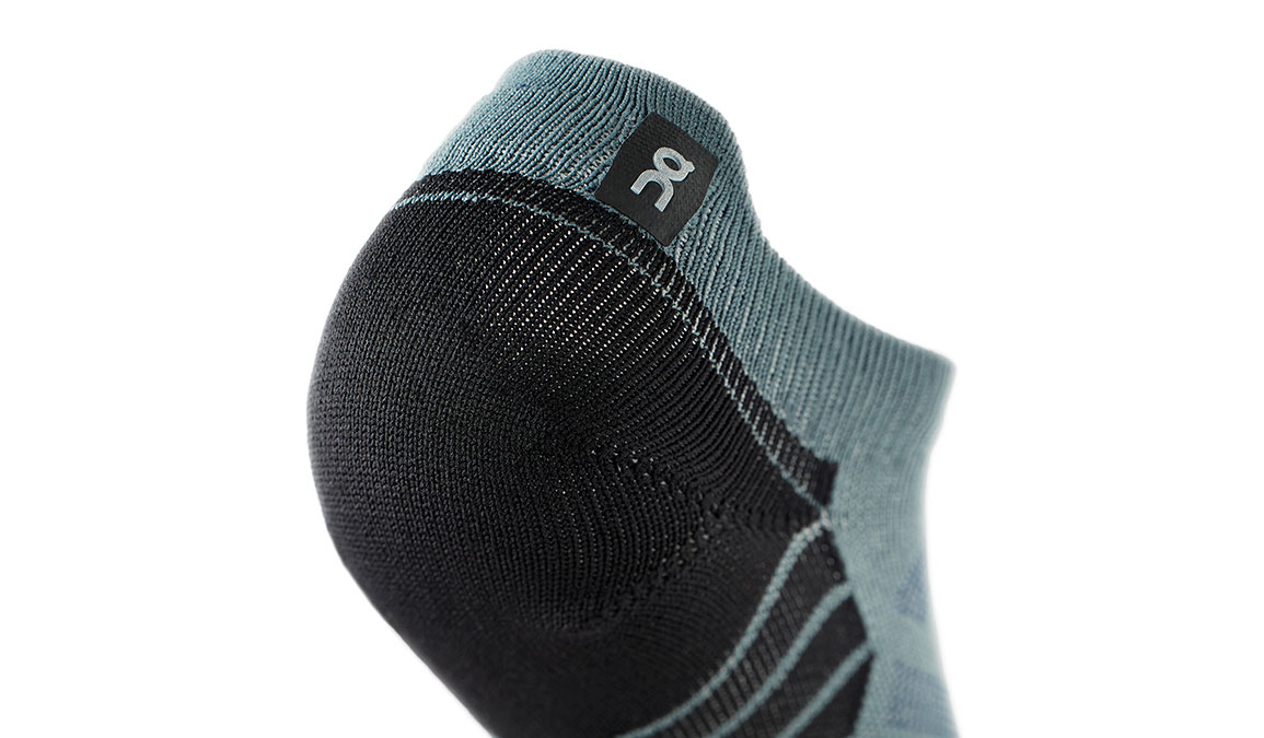 Men's On Low Sock - Color: Shadow/Mulberry Size: S, Shadow, large, image 2
