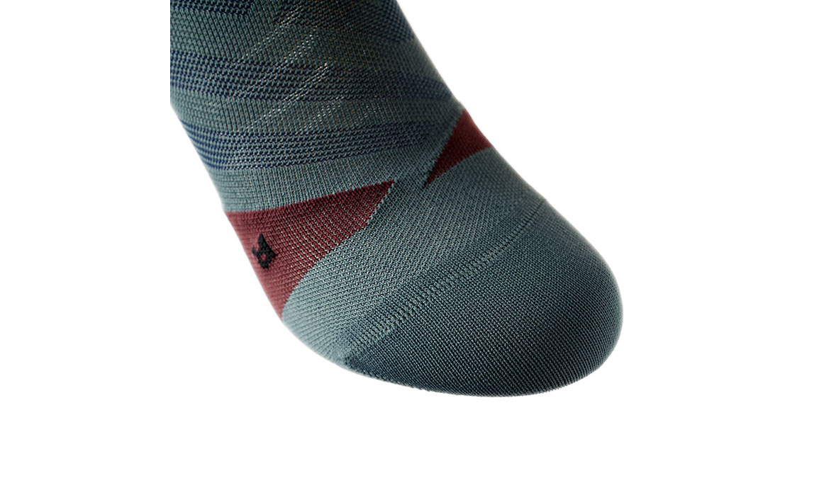 Men's On Low Sock - Color: Shadow/Mulberry Size: S, Shadow, large, image 3