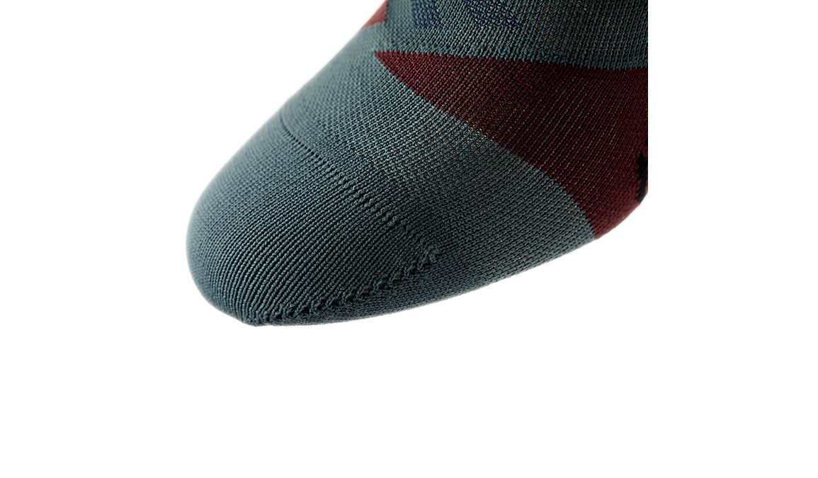 Men's On Low Sock - Color: Shadow/Mulberry Size: S, Shadow, large, image 4