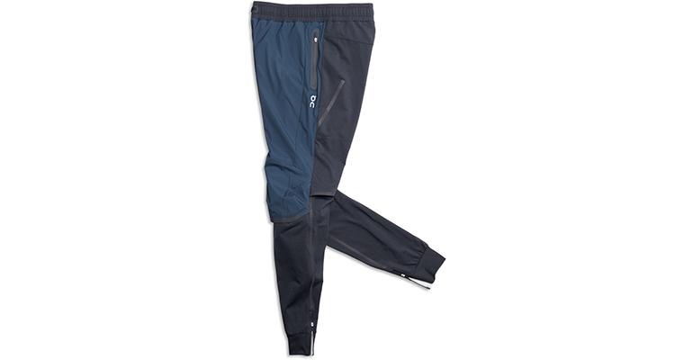 Men's On Running Pants - Color: Navy/Black - Size: L, Blue/Black, large, image 1