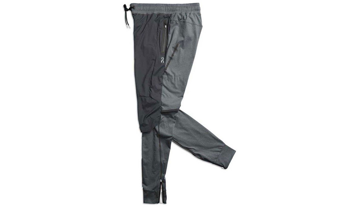 Men's On Running Pants - Color: Shadow Size: S, Shadow, large, image 1