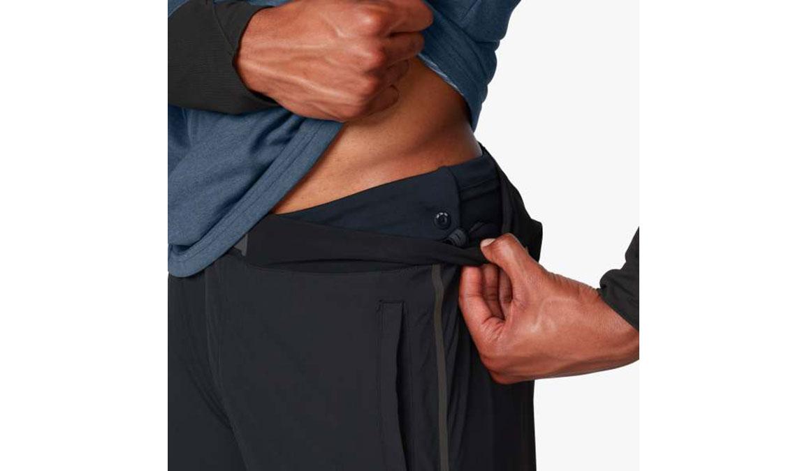 Men's On Tights Long  - Color: Black/Shadow Size: S, Black/Grey, large, image 4