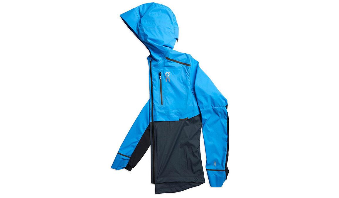 Men's On Weather Jacket - Color: Malibu/Navy Size: L, Blue/Navy, large, image 1