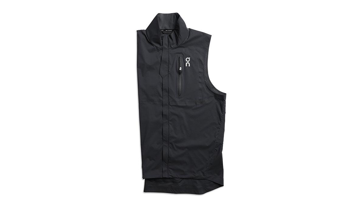 Men's On Weather-Vest - Color: Black Size: L, Black, large, image 1