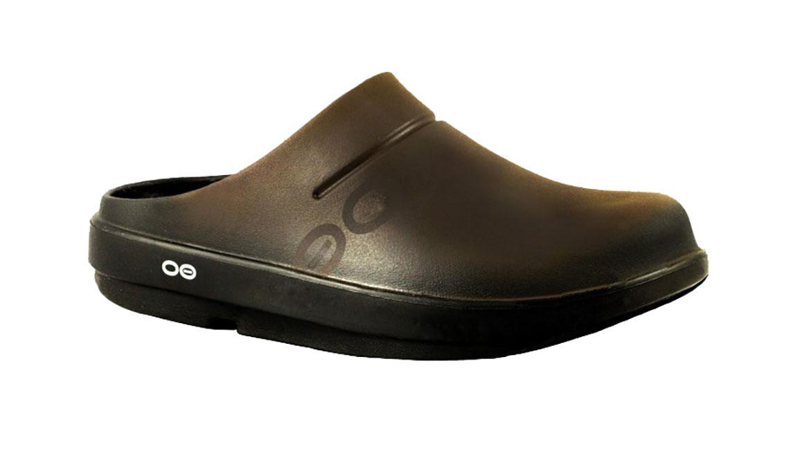 Oofos OOcloog Sport Clog - Color: Brown (Regular Width) - Size: M12/W14, Brown, large, image 2