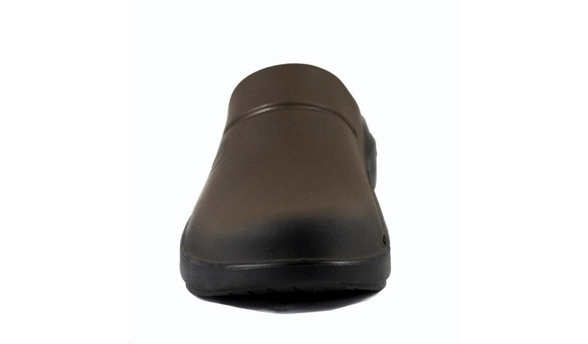 Oofos OOcloog Sport Clog - Color: Brown (Regular Width) - Size: M12/W14, Brown, large, image 3